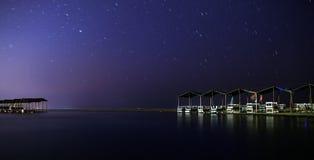 Night on beach Royalty Free Stock Image