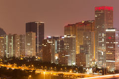 Night at Beijing Royalty Free Stock Photography