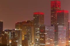 Night at Beijing Royalty Free Stock Photo