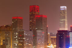Night at Beijing Stock Image