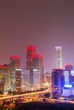 Night at Beijing Royalty Free Stock Photos