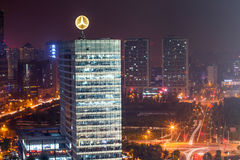 Night at Beijing Royalty Free Stock Images