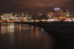 Night Benalmadena Stock Image
