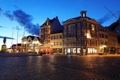 Night in Bergen Stock Photo