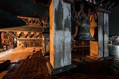 Night in Bhaktapur Royalty Free Stock Photo