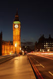 Night big ben Stock Image