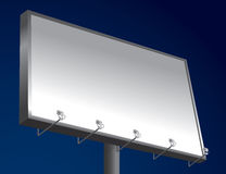 Night Billboard Royalty Free Stock Images