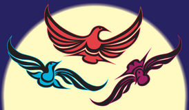 Night Birds Royalty Free Stock Images
