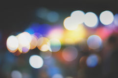 Night blur bokeh texture wallpapers and backgrounds Royalty Free Stock Images