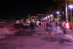 Night blur Stock Photo