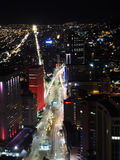 Night in Bogota, Colombia. Stock Images