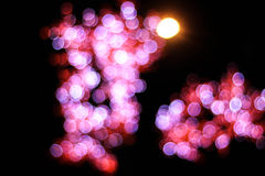 Night bokeh Royalty Free Stock Image