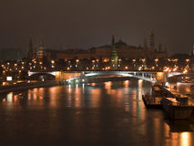The night bridge Stock Photography