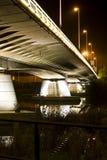 Night bridge Royalty Free Stock Photo
