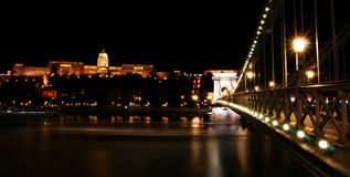 Night in Budapest Royalty Free Stock Images