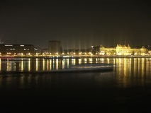 Night in Budapest Royalty Free Stock Image