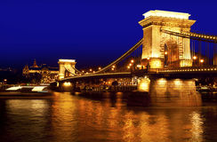 Night Budapest architecture Stock Photos