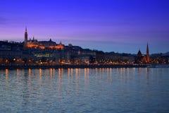 Night Budapest Hungary Royalty Free Stock Image