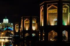 At Night. Building at waterfront of putrajaya Stock Photos