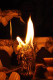 Night candle light Royalty Free Stock Images