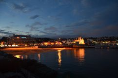 Night in cascais!! Stock Photography