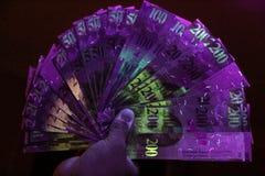 Night Cash Royalty Free Stock Photos