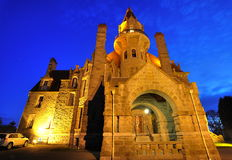 Night castle Royalty Free Stock Photos