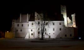 Night castle Stock Photo