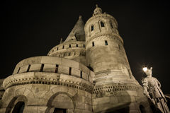 Night castle Budapest Royalty Free Stock Photos