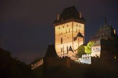 Night castle Royalty Free Stock Photos