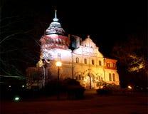 Night charm Richter family villa. Royalty Free Stock Photography