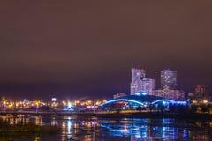 Night in Chelyabinsk Stock Photos
