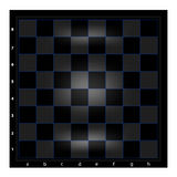 Night Chessboard with blue grid. Chess Series - A chessboard ideated to long, perhaps night, chess plays on modern displays Stock Images