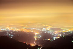 Night Chiayi, Taiwan Royalty Free Stock Photo