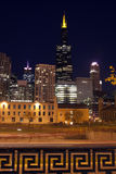 Night in Chicago Royalty Free Stock Photos