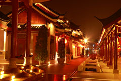 Night china village Stock Photo