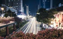 Night Chinatown, Singapore Stock Photos