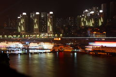 Night Chongqing. Stock Photography