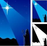 Night of Christ's birth Stock Photography