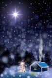 Night before Christmas royalty free illustration