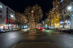Night Christmas Berlin Royalty Free Stock Images