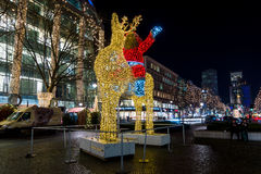 Night Christmas Berlin Stock Photography