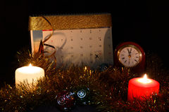 The night before Christmas Royalty Free Stock Image