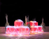 Night christmas composition. Stock Images