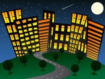 Night_city Royalty Free Stock Image