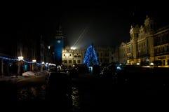 Night city Stock Image