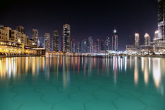 Night city. Stock Image