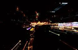 Night city stock photography
