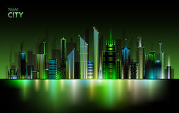 Night city Royalty Free Stock Photography