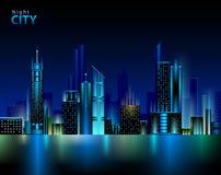 Night city Royalty Free Stock Photos